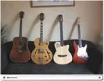cours de guitare Présentation de la guitare et placement de son corps