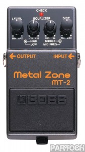 Boss metal zone mt2