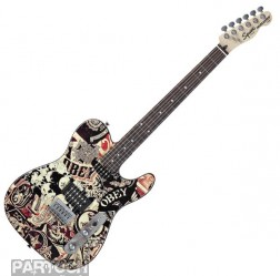 Squier Telecaster Obey Graphic