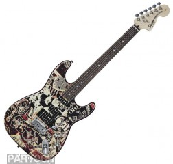 Squier Stratocaster Obey Graphic