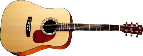 guitare acoustique cort earth 70 ns