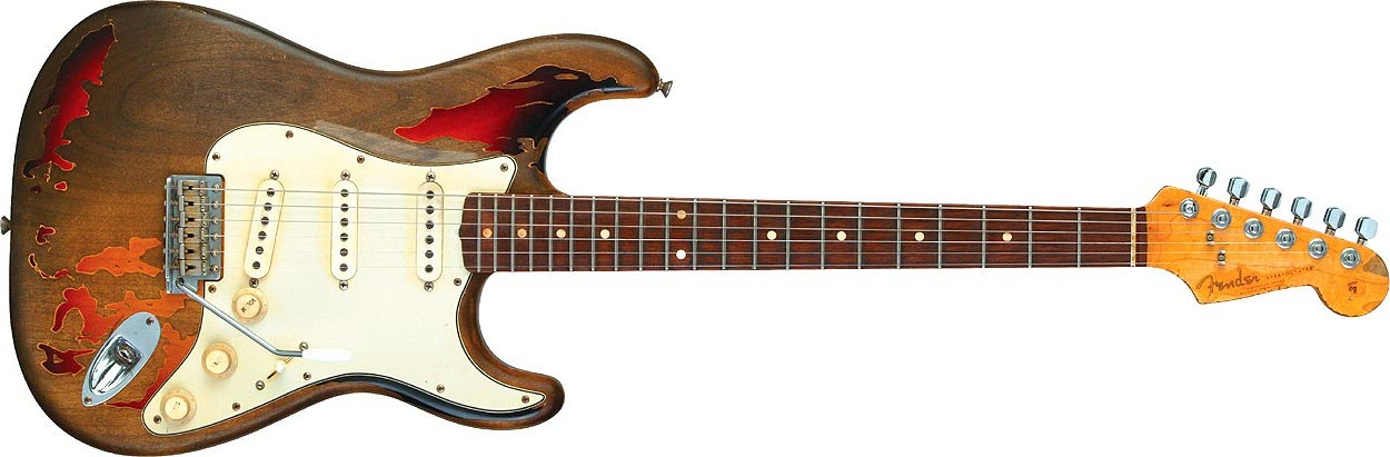 Fender stratocaster tribute rory gallagher