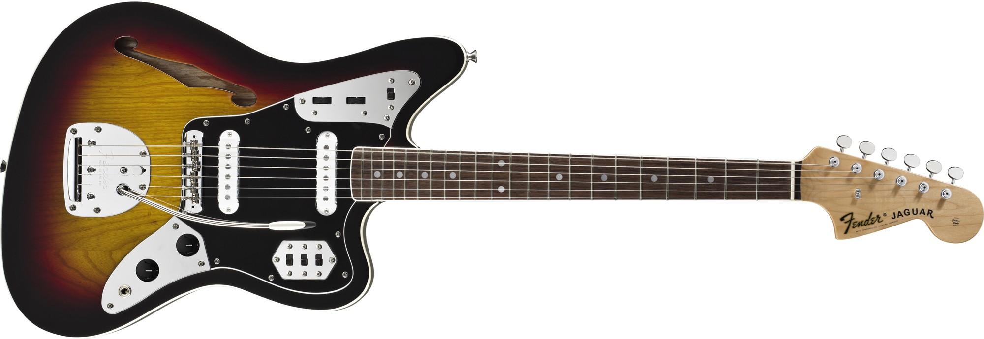Fender Special Edition Jaguar Thinline Japon