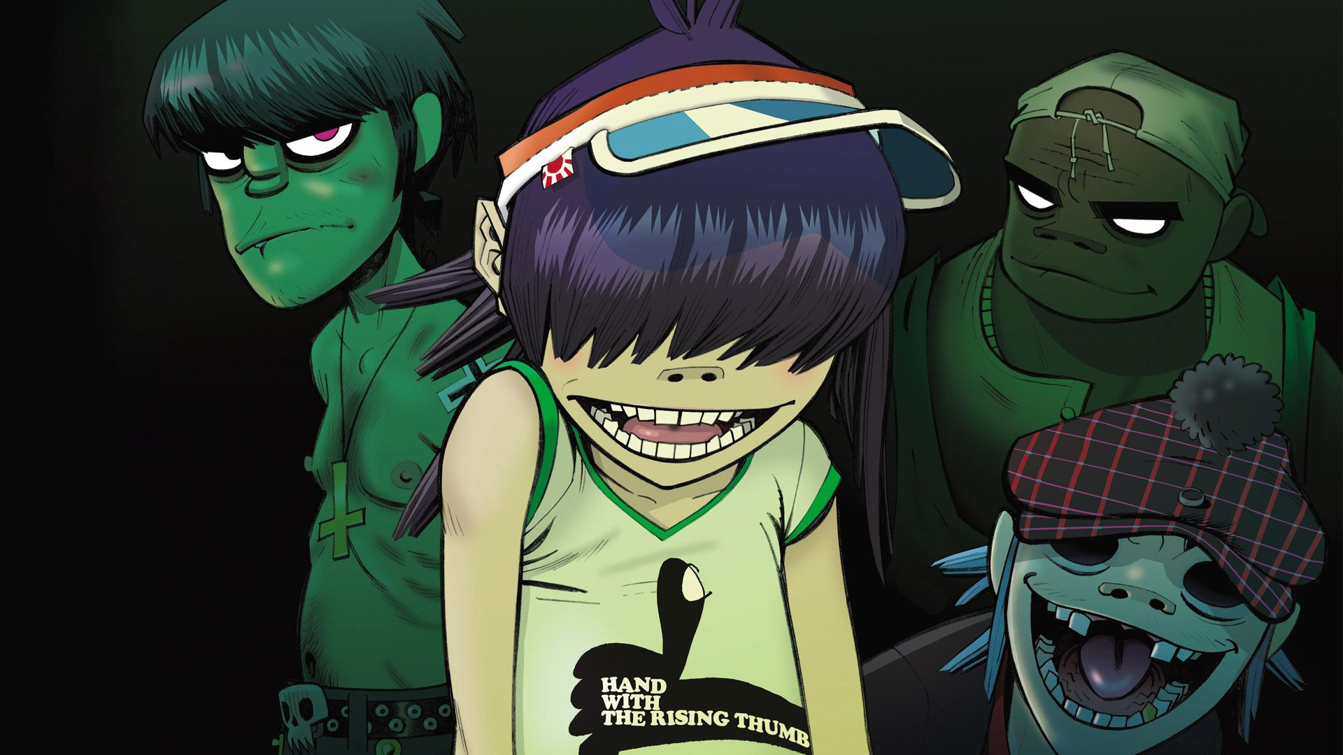 tablature gorillaz