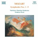 Symphonies Nos. 1-5 (Northern Chamber Orchestra feat. conductor: Nicholas Ward)