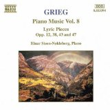 Piano Music, Volume 8: Lyric Pieces, opp. 12, 38, 43 and 47