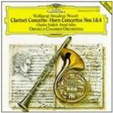 Clarinet Concerto and Horn Concertos Nos. 1 and 4 (Orpheus Chamber Orchestra, feat. basset clarinet: Charles Neidich, french horn: David Jolley)