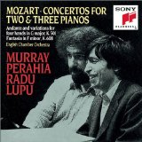 Concertos for Two & Three Pianos (English Chamber Orchestra feat. piano: Murray Perahia, Radu Lupu)