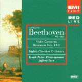 Violin Concerto / Romances Nos. 1 & 2 (English Chamber Orchestra feat. conductor: Jeffery Tate, violin: Frank Peter Zimmermann)