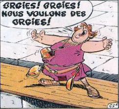 Image result for orgies, nous voulons des orgies