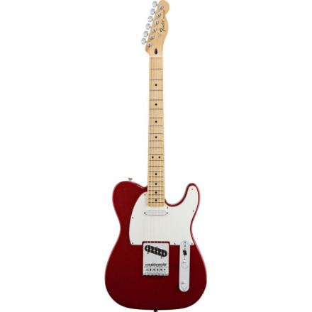 STANDARD TELECASTER MAPLE CANDY APPLE RED TINT