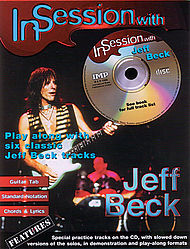 In Session With Jeff Beck Book/cd