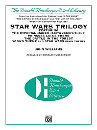 Star Wars Trilogy / The Donald Hunsberger Wind Library Score and Parts