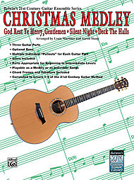 21st Century Guitar Ensemble Christmas Medley, Mixed Levels