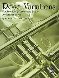 Rose Variations B-flat Cornet (trumpet) Solos (with Piano Accompaniment
