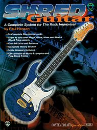 Shred Guitar A Complete System for the Rock Improviser Book/CD