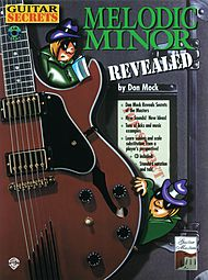 Guitar Secrets Melodic Minor Revealed Book/CD
