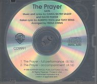 Andrea Bocelli, Celine Dion: The Prayer - CD