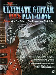 Ultimate Rock Play-along Guitar Trax Cd Included