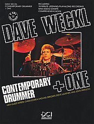 Dave Weckl Contemporary Drummer + One 2 Cds Included