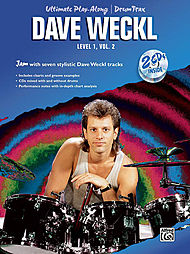 Dave Weckl: Ultimate Play-Along for Drums, Level 1, Volume 2 (Book and 2 CDs)