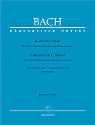 Concerto in C minor for Oboe, Violin, Strings and Basso continuo