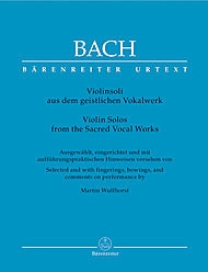 Violin Solos from the Sacred Vocal Works.