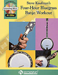 Steve Kaufman''s Four-Hour Bluegrass Banjo Workout