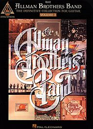 The Allman Brothers Band: The Definitive Collection For Guitar - Volume 3