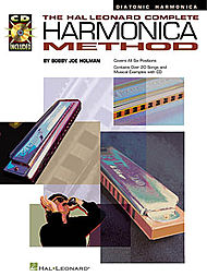 The Hal Leonard Complete Harmonica Method - The Diatonic Harmonica (Harmonica)