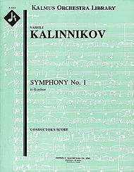 Symphony No. 1 in G minor - full score