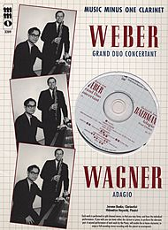 WEBER Grand Duo Concertant; WAGNER Adagio