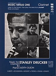Intermediate Clarinet Solos, vol. I (Stanley Drucker)