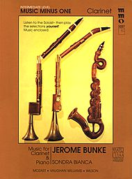 Intermediate Clarinet Solos, vol. III (Stanley Drucker)