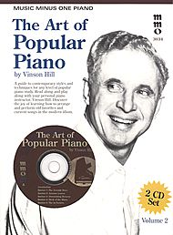 The Art Of Popular Piano Playing, vol. II - Student Level (2 CD Set)