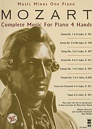 MOZART Complete Music for Piano 4 Hands (Digitally remastered 2 CD Set)