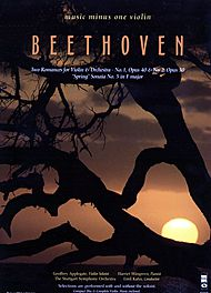 BEETHOVEN Two Romances for Violin & Orchestra; Sonata No. 5 in F major ''Spring'' (New Digitally Remastered 2 CD set)