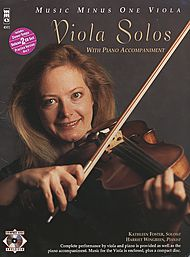 Viola Solos with piano accompaniment (Digitally Remastered 2 CD set)