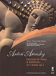 ARENSKY Concerto for Piano in F major, op. 2 (2 CD set)