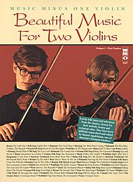 Beautiful Music for Two Violins, vol. I: 1st position
