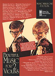Beautiful Music for Two Violins, vol. II: 2nd position