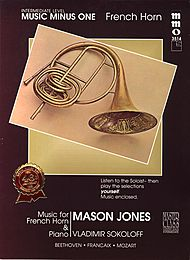 Intermediate French Horn Solos, vol. II (Mason Jones)