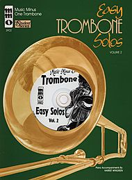 Easy Trombone Solos: Student Level, vol. II