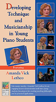 Developing Technique And Musicianship In Young Piano Students Vhs