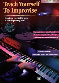 Teach Yourself To Improvise at the Keyboard - Book/CD