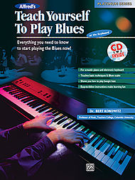Teach Yourself To Play Blues at the Keyboard - Book/CD