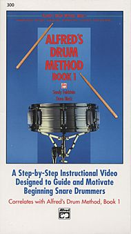Alfred''s Drum Method - Book 1 (VHS)