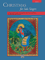 Christmas For Solo Singers - Book Only (medium Low)