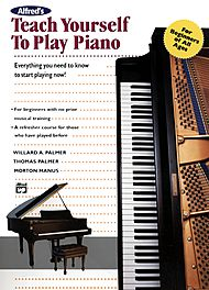 Alfred''s Teach Yourself To Play Piano (Book)