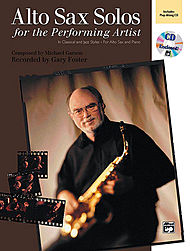 Alto Sax Solos For The Performing Artist (Book & Cd)